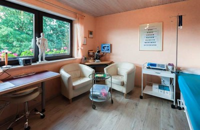 Naturheilpraxis Behandlungsraum